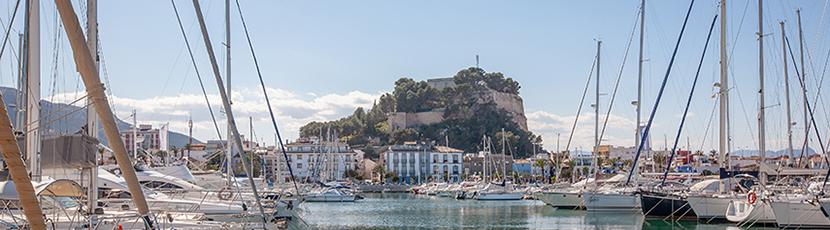Denia-Port-and-Castle